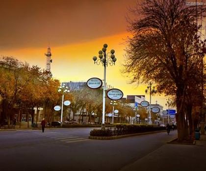 PS调出街景照片温馨的早晨效果