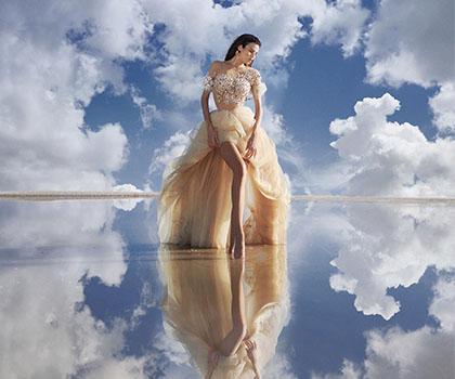 更大胆的新娘婚纱摄影