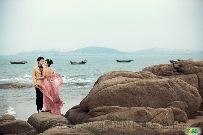 青岛圣罗尼克海景婚纱摄影基地