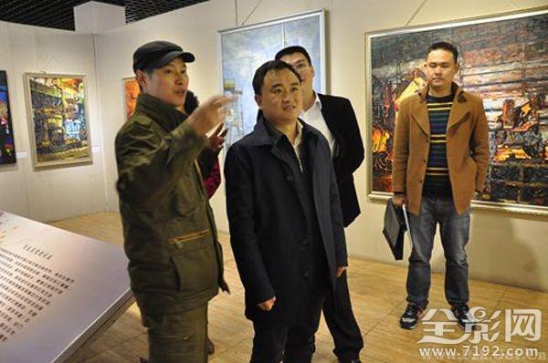 东区教育局教职工首届美术、书法、摄影作品展开幕