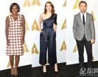 爱玛·斯通,维奥拉戴维斯,瑞恩·高斯林和奥斯卡2017人步出明星云集的提名者午宴