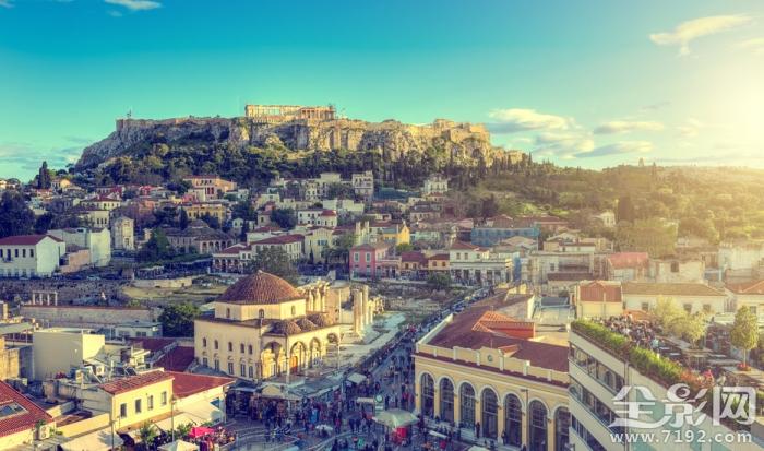 迷人的希腊