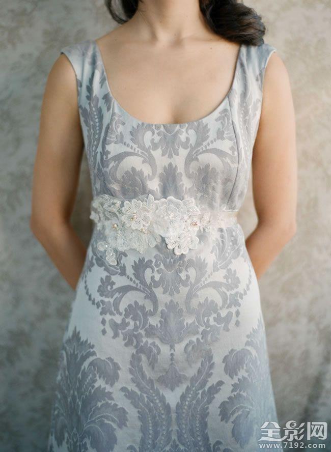 复古蕾丝婚纱带