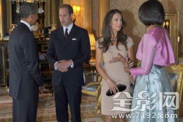 奥巴马的白金汉宫参观:皇家婚礼