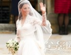 凯特·米德尔顿的婚纱打破白金汉宫的记录