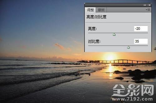 PS12个步骤还原绚烂的海滨落日