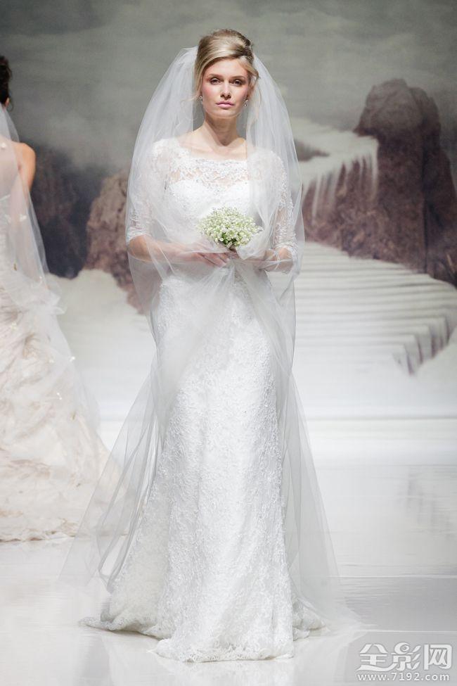 贵族气息的婚纱