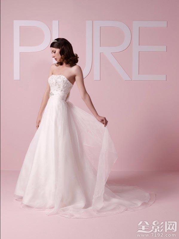 选择适合你身体形状的婚纱礼服