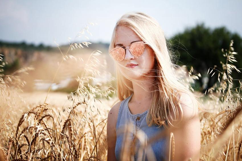 半剪影化?3招让你的照片充满阳光