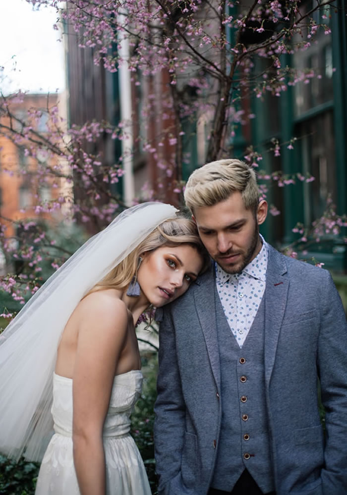 美丽的婚礼拍摄