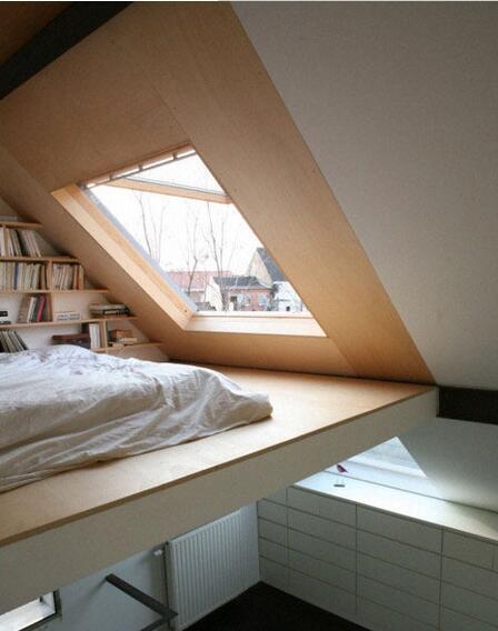 嵌入设计创造更多空间