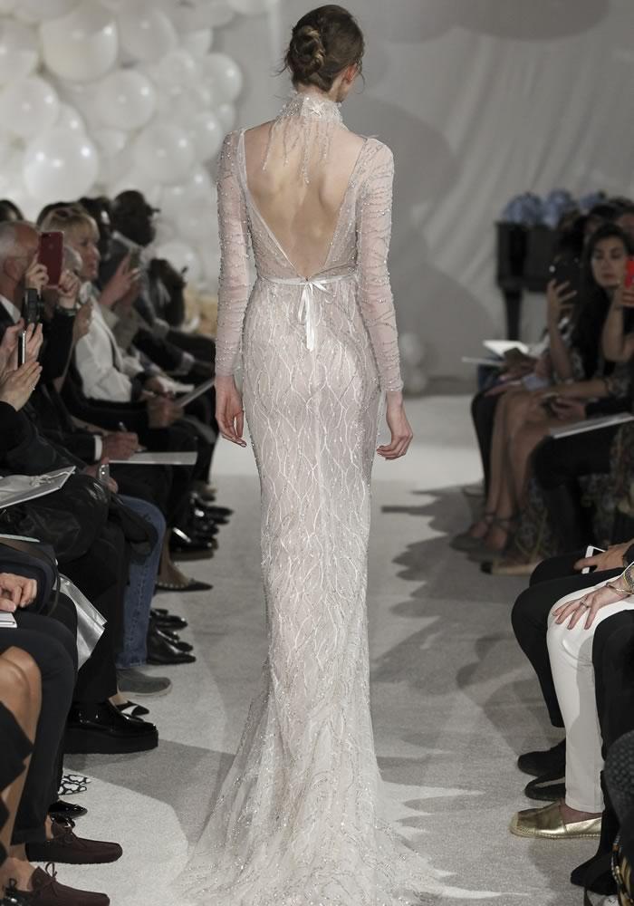 纽约婚纱周:时尚的方式与袖子