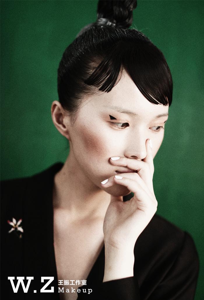 化妆教程 东瀛风造型