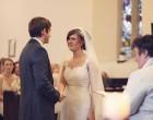 一个漂亮的传统的婚礼