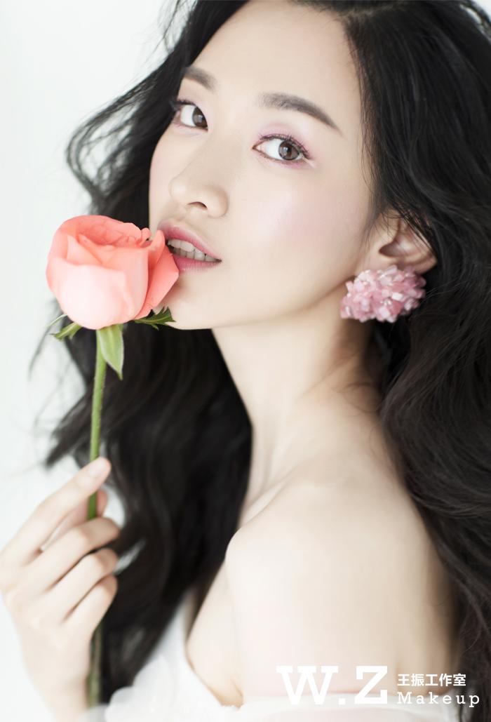化妆技巧 新娘妆容 | 唯美鲜花造型