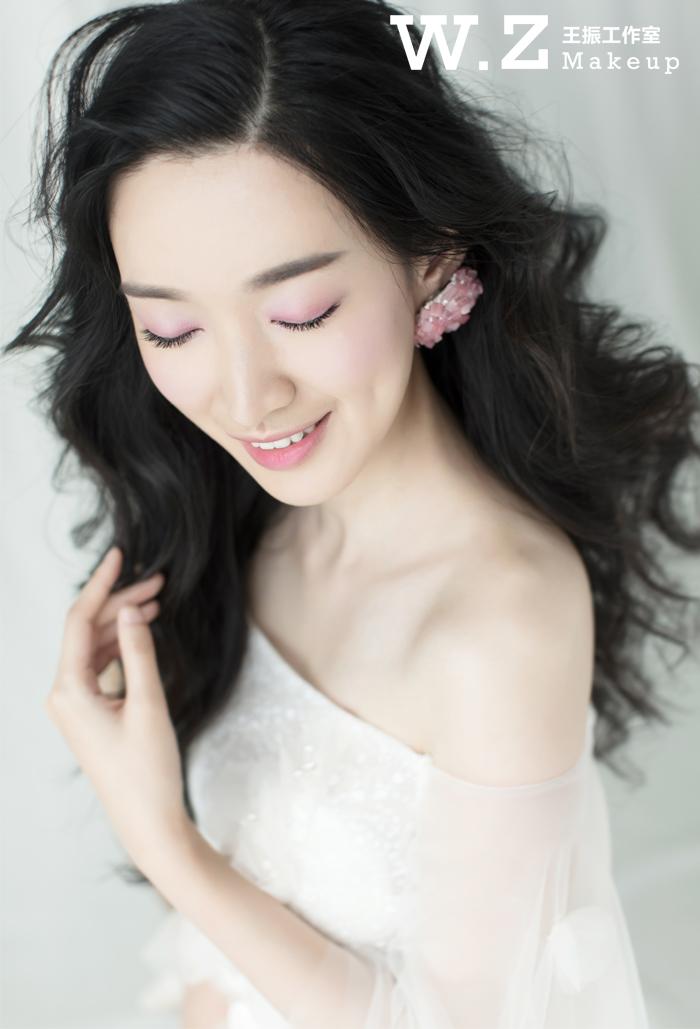 新娘妆容 | 唯美鲜花造型