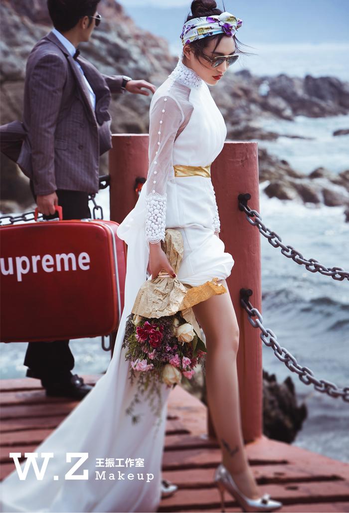波西米亚风格新娘