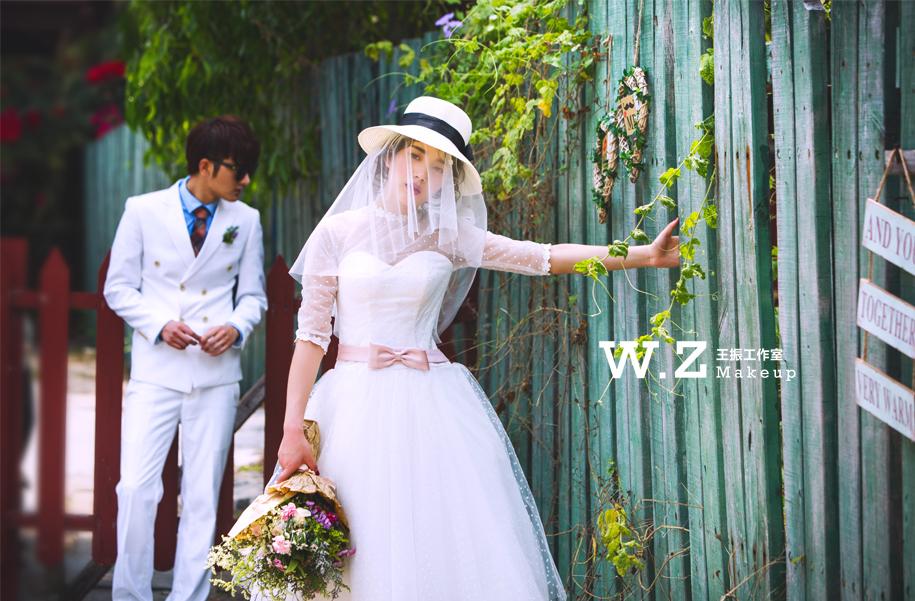 新娘婚纱造型丨田园风格