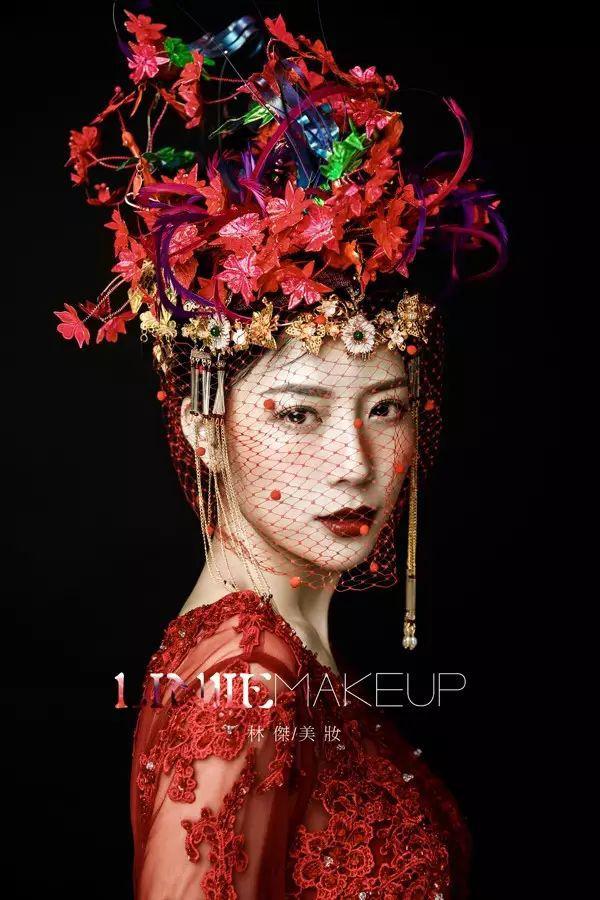 时尚个性中式新娘妆 体现不一样的唯美温婉
