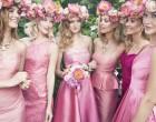 伴娘礼服不会比新的粉红色系列凯尔西玫瑰漂亮