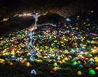 日本别样红叶季 摄影师拍摄赏枫帐篷盛景