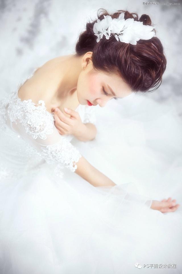 拍婚纱照曝光不足?学会一招PS后期处理技巧,马上让图片变成甜美效果