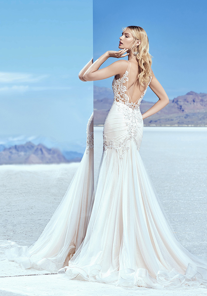 令人惊叹的新娘装