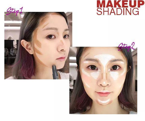 圆脸要变瘦?要掌握好的瘦脸化妆教程