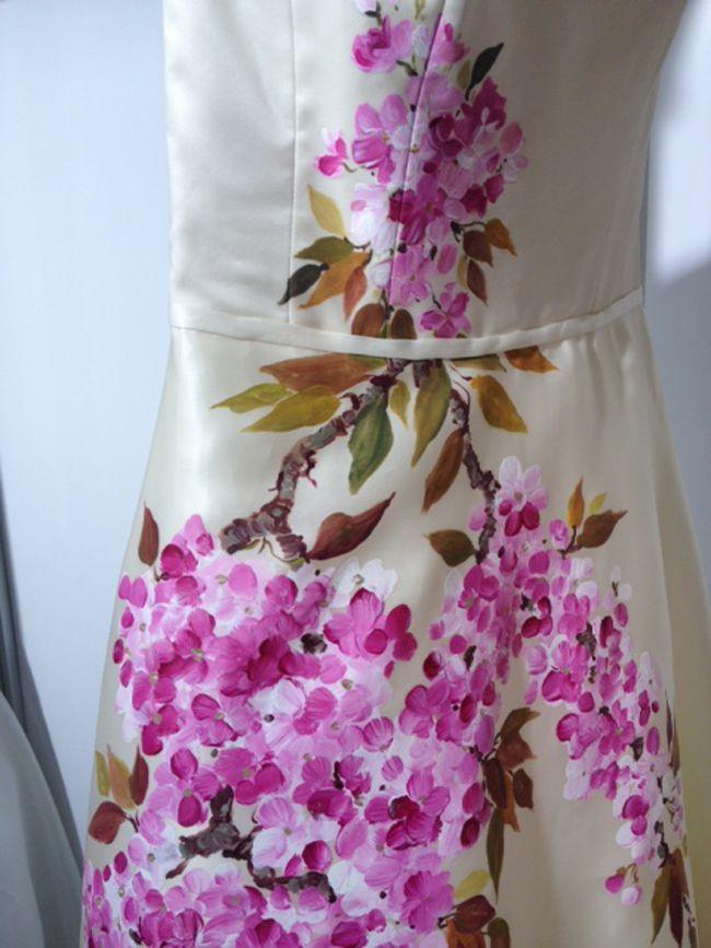 婚纱设计细节