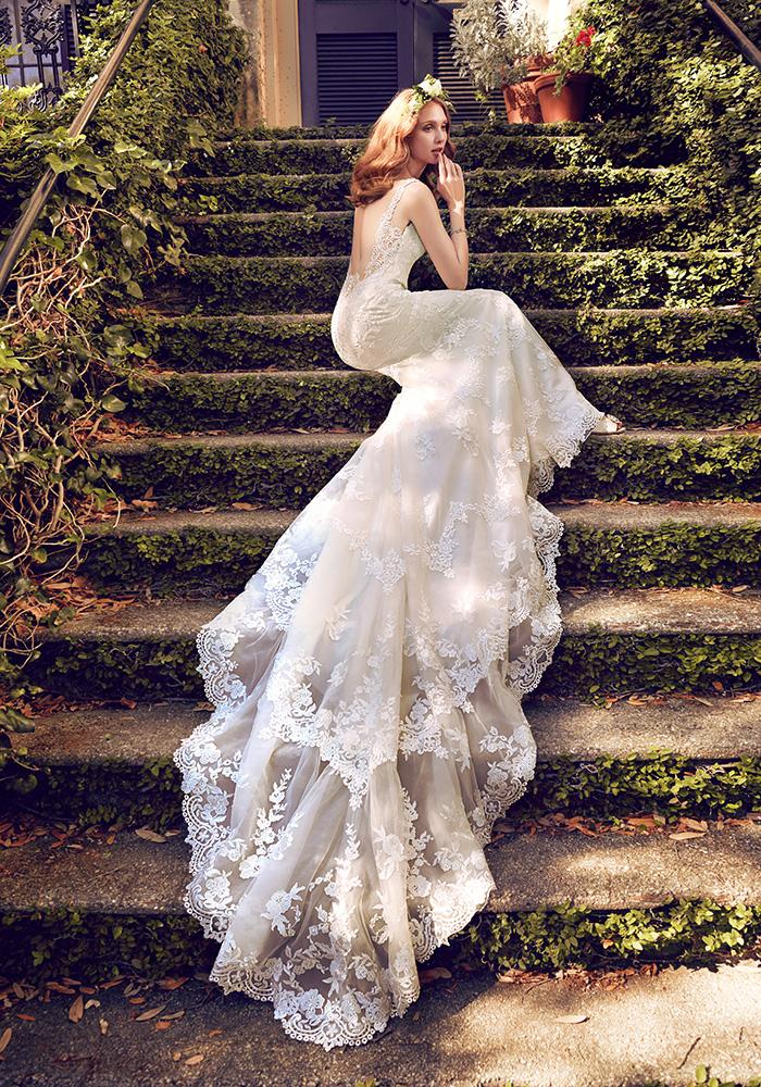永恒设计的完美婚纱