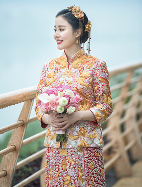 新娘造型|传统中式新娘,古典优雅尽显迷人风采