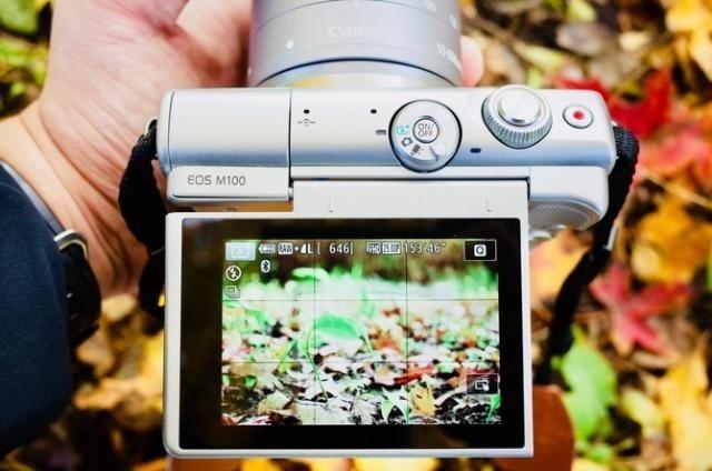 画质细腻 佳能微单EOS M100受青睐
