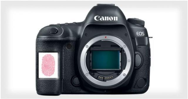 佳能可能会将指纹识别功能放进相机?