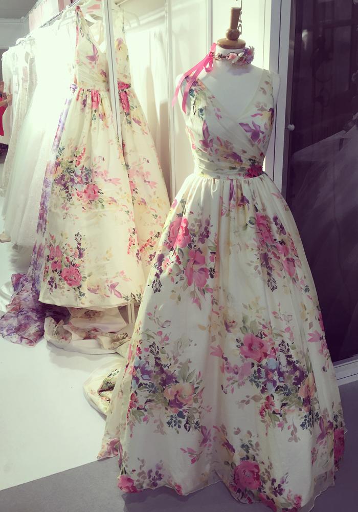 新娘时尚时装表演