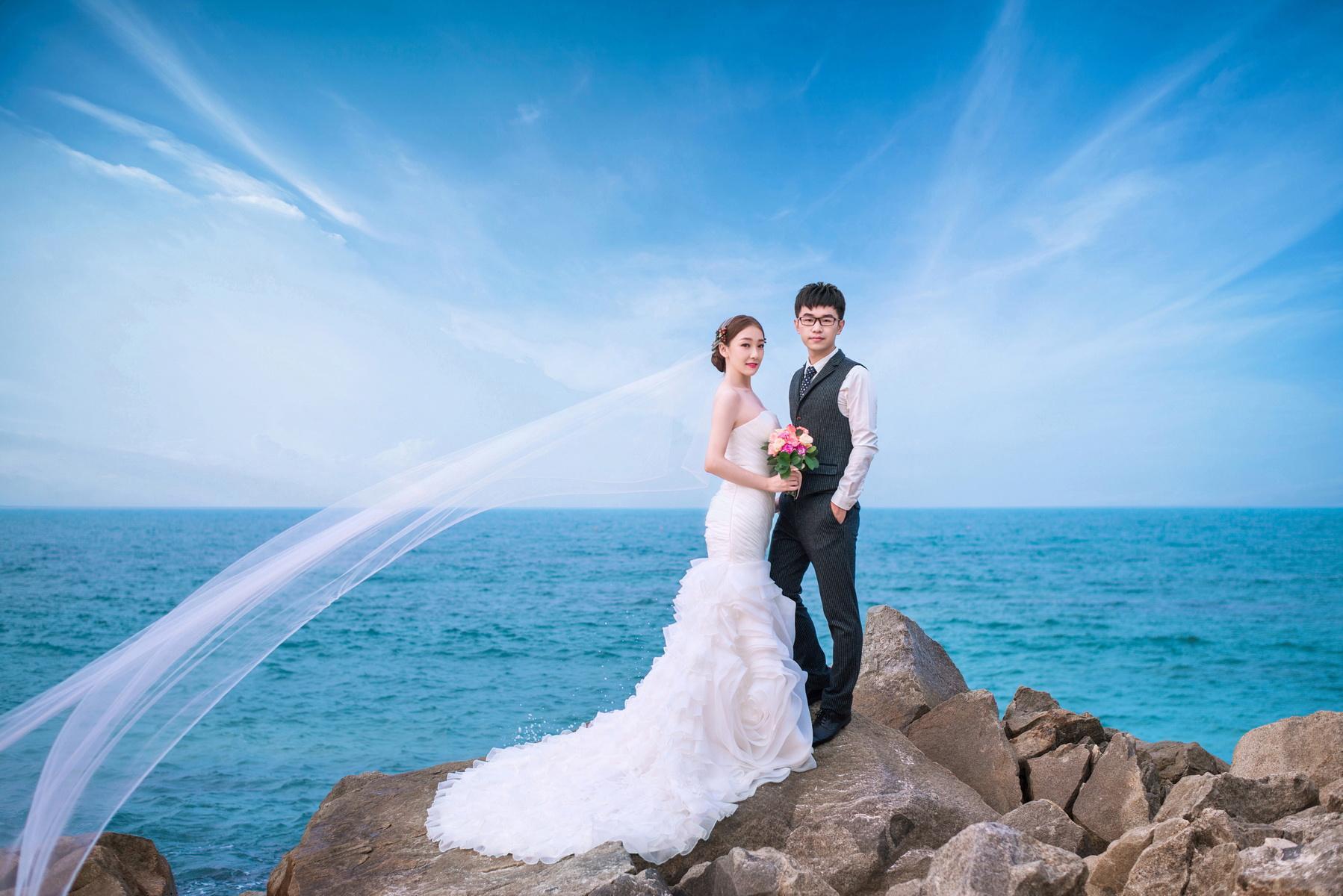 海南三亚拍婚纱照_海南三亚拍婚纱照景点