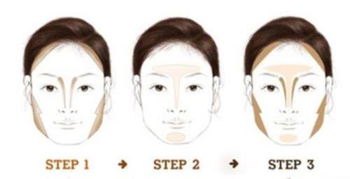 脸大毁所有,一套化妆修容法轻松解决!