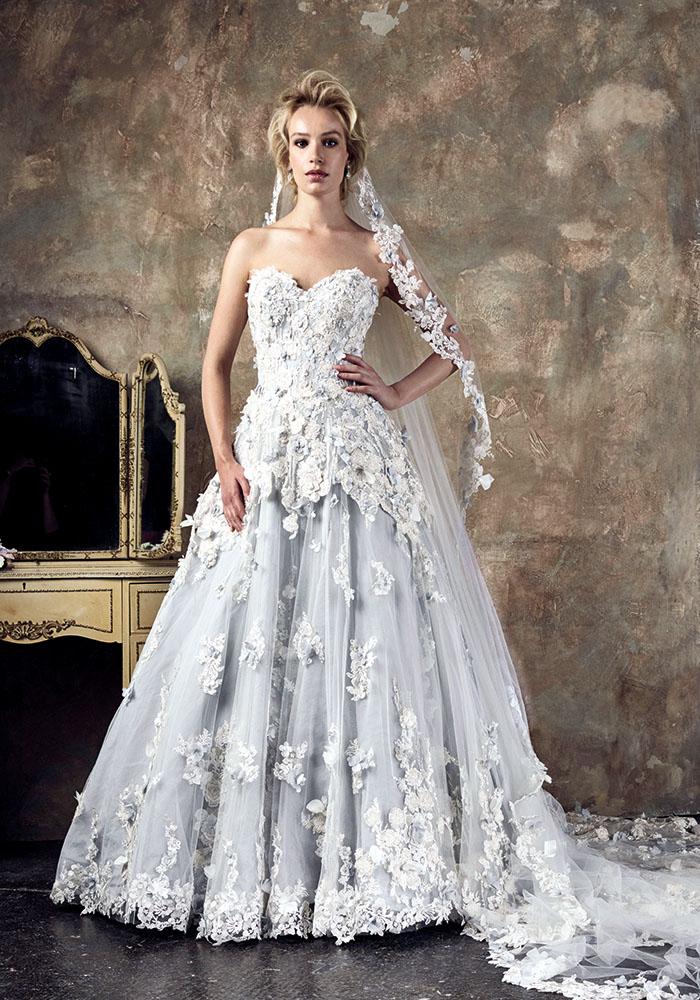新的季节新娘面纱
