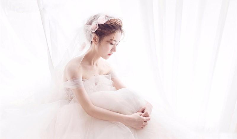 小清新新娘造型图片欣赏