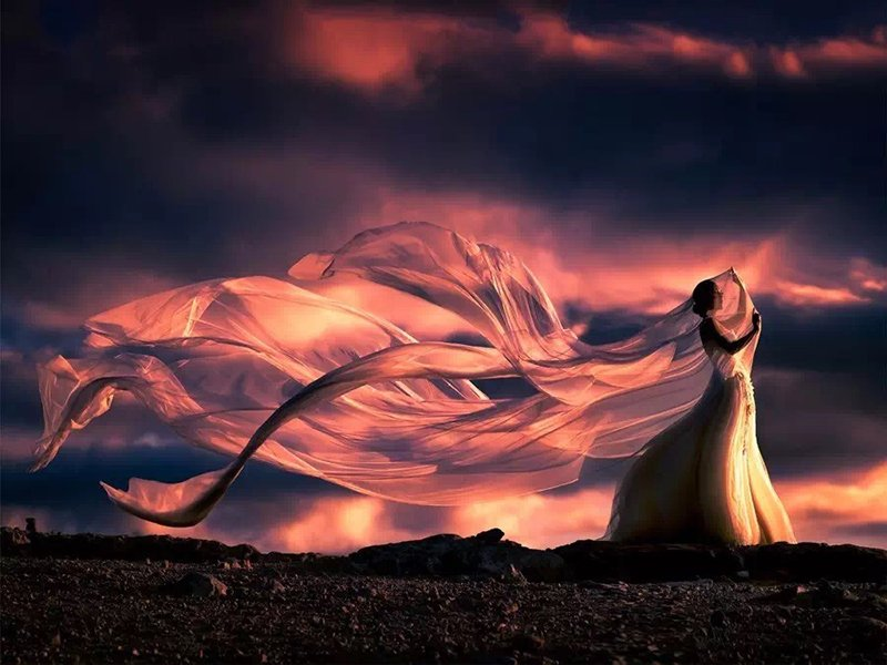 用最柔软的纱,舞出最壮美的魂