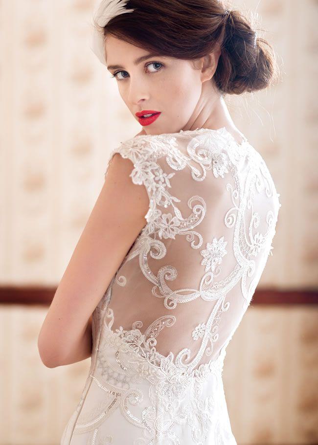 遇见礼服设计师和新娘夏洛特