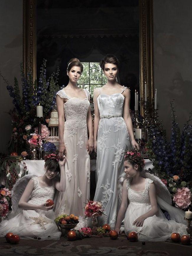 艺术灵感马德琳艾萨克詹姆斯揭示了她的新婚纱系列