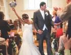 婚礼现场短暂的精彩时刻