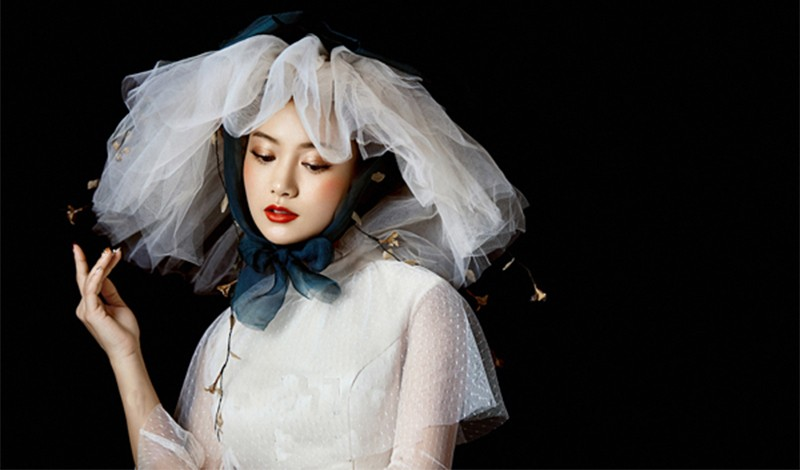 轻奢复古仙美新娘造型