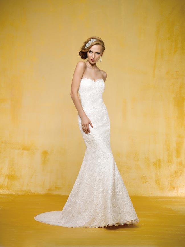 精明的裙子!茉莉花新娘告诉你如何选择完美的形状