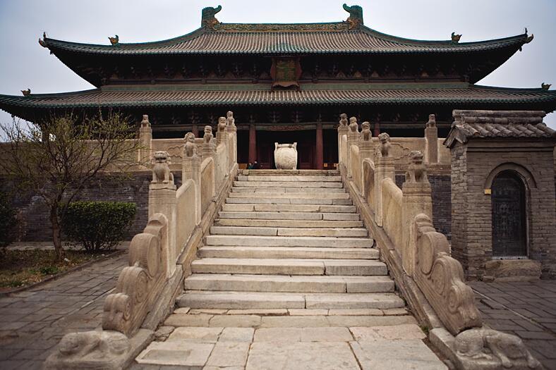 蜜月旅行曲阳北岳庙