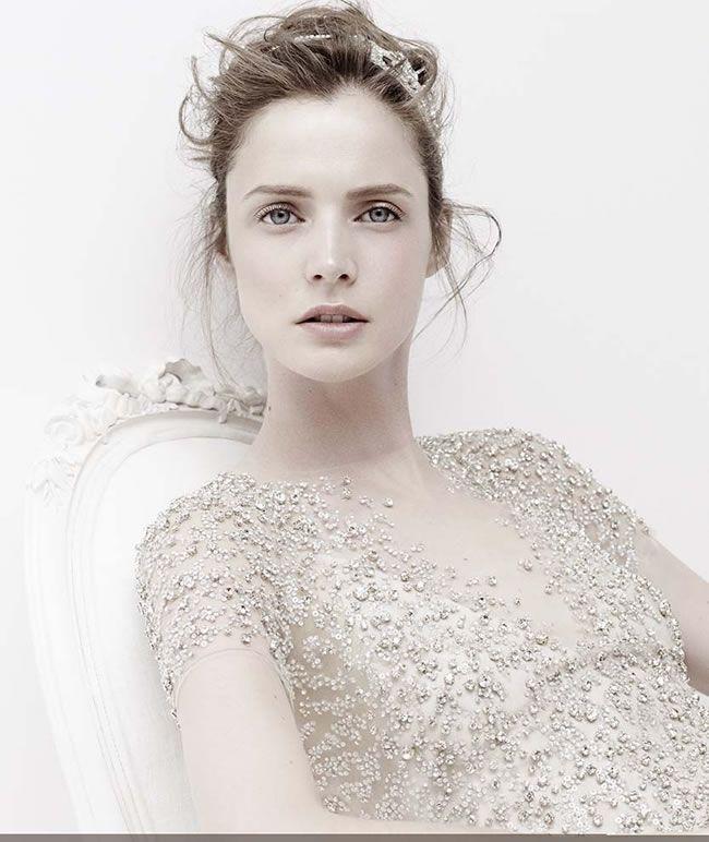 婚纱摄影上的新娘配饰