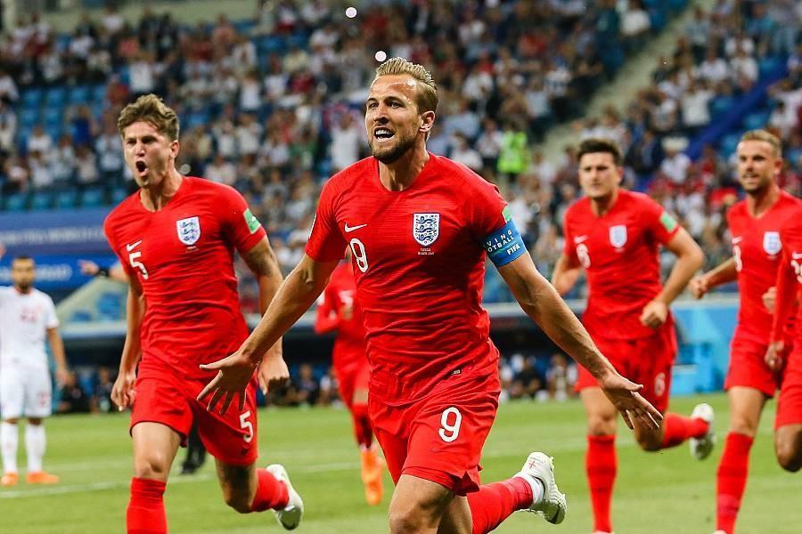 英格兰2-1绝杀突尼斯 凯恩补时破门完成梅开二度