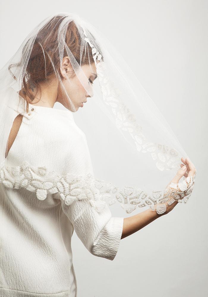 婚纱摄影新的季节新娘面纱