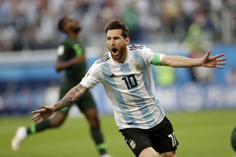 梅西进球就是赢球保证 阿根廷惊险闯进16强