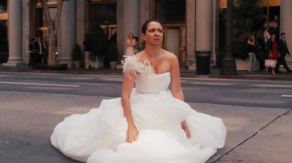 婚纱摄影如何穿着婚纱上厕所